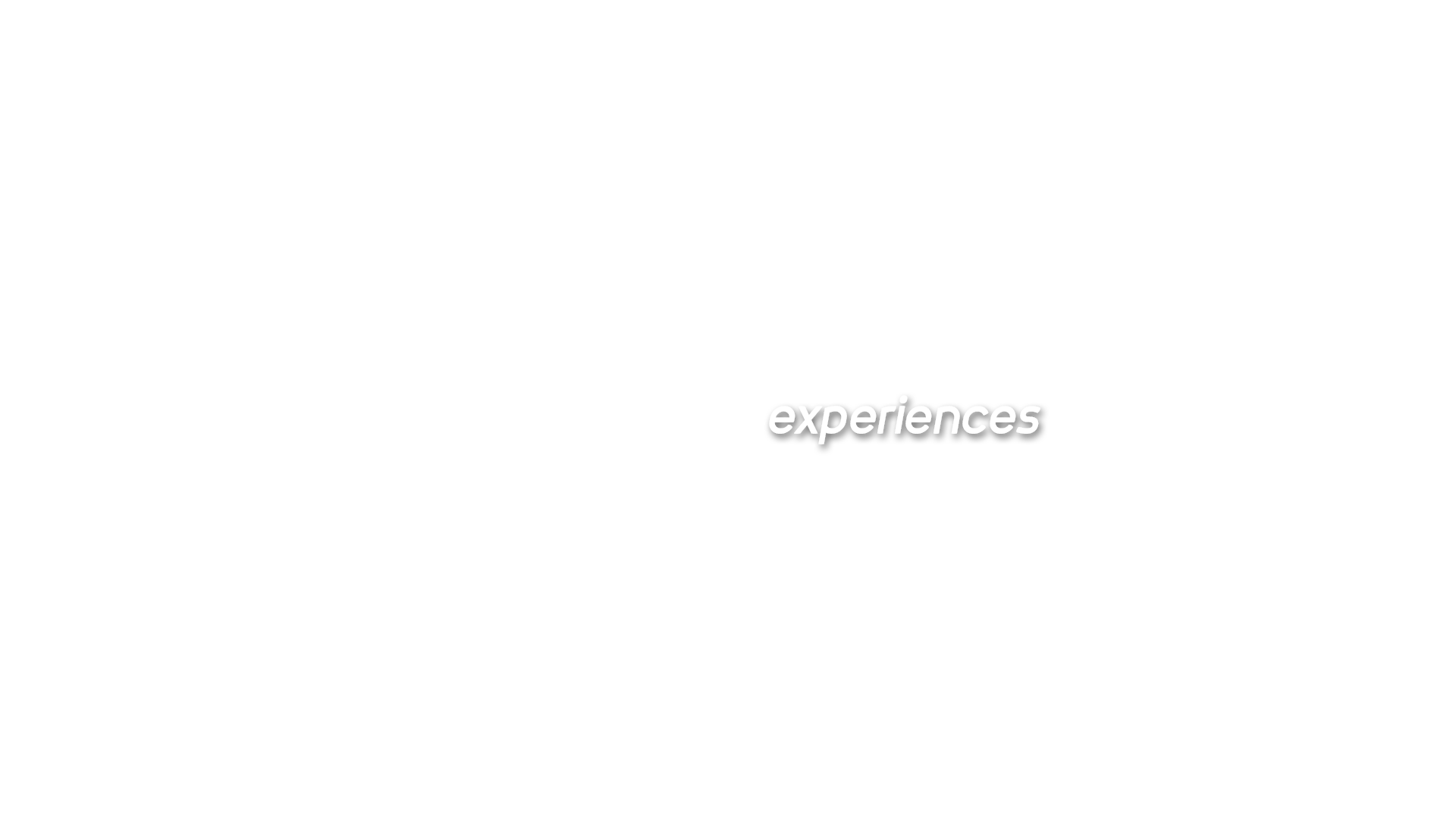 Experiences text